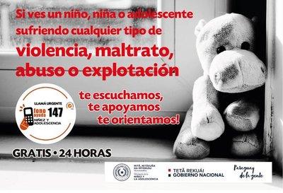 Lanzan campaña contra el abuso sexual de niñas, niños y adolescentes