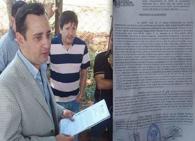 Propiedad allanada por supuesta deforestación en el Chaco pertenece a la firma Kanon Finanz Establishment.