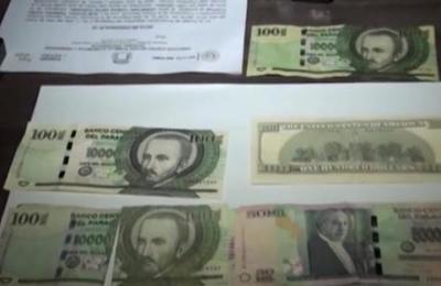 Incautan billetes falsos en Encarnación