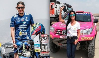 El regreso triunfal de los vencedores del Dakar