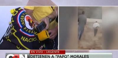 """""""Papo"""" Morales ya guarda reclusión en penal de Villarrica"""