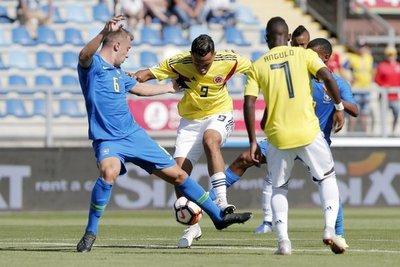 Sub 20: Brasil y Colombia firman amargo empate