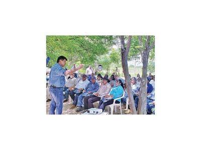 Alegre critica estado de abandono de  pobladores del Chaco