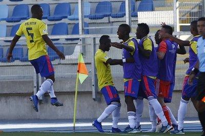 Sub 20: Colombia derrota por la mínima a Bolivia