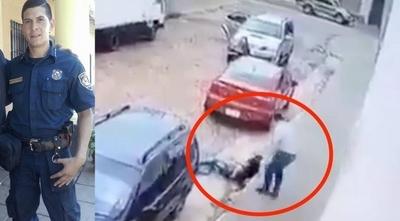 "HOY / Imputan a policías que 'disfrazaron' muerte de subcomisario: ""Los bandidos no dispararon"""
