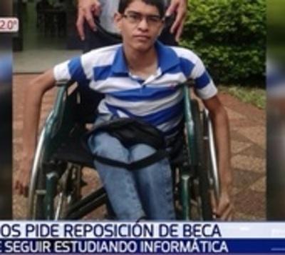 Joven pide a Itaipú que le devuelvan beca para terminar sus estudios