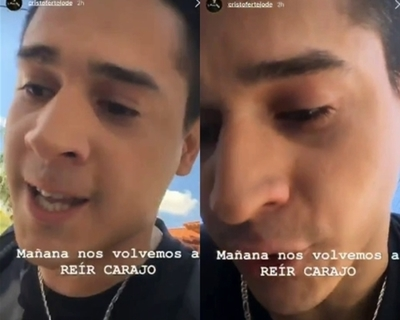 "El dramático vídeo de Cris Giménez tras salir de ""TeleShow"""