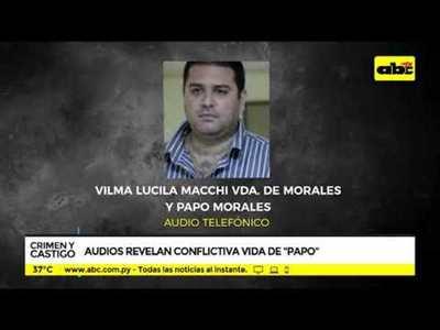 Filtran otros audios de Papo Morales