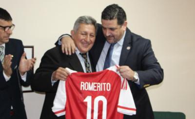 HOY / Romerito, entre las figuras del sorteo de la Copa América