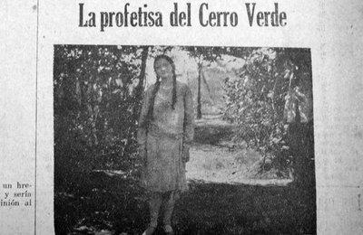 La profetisa del Cerro Verde
