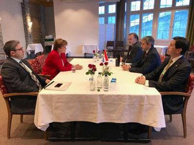 En reunión con presidenta del BM, jefe de Estado recibe apoyo a su programa de Gobierno