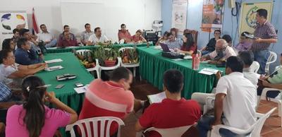 Gobierno dialoga con campesinos e indígenas para dar respuestas a las demandas del sector