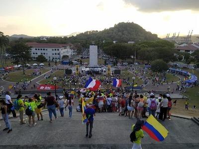 Varios jóvenes de la Diócesis de San Lorenzo en Jornada Mundial de la juventud