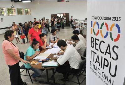 Este viernes cierra plazo para confirmar postulaciones a Becas Itaipu 2019