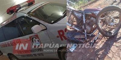 Adolescente muere en choque entre moto y camión