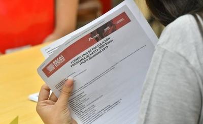 HOY / Becas Itaipú: recepción de documentos y confirmación de postulantes, hasta hoy