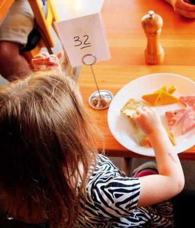 Reglas de etiqueta para niños en restaurantes