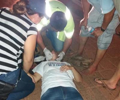 Incidentes y represión policial contra manifestantes