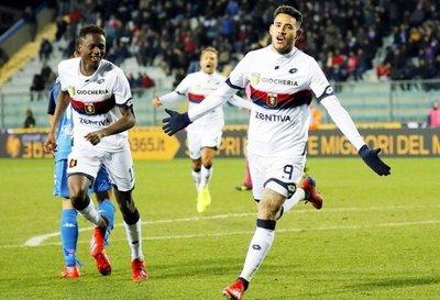 Gol y victoria en su debut con el Genoa