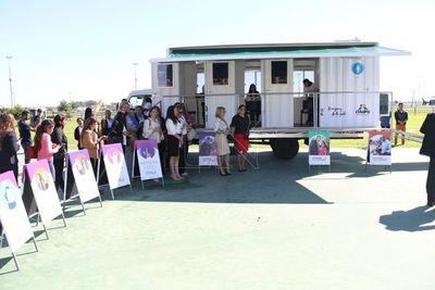 Móvil de ciudad mujer llegará a Canindeyú