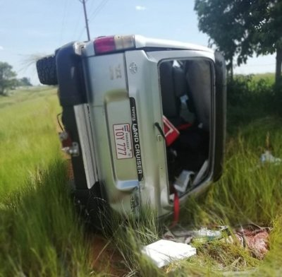 Fatal accidente vial en San Ignacio
