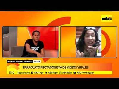 Paraguayo protagonista de videos virales
