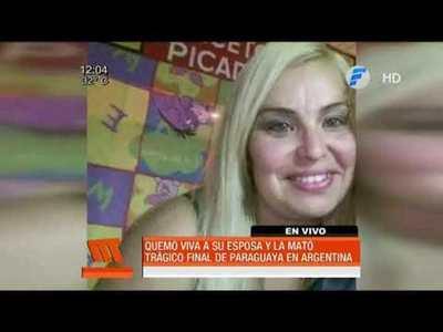 Queman viva a una paraguaya en Argentina