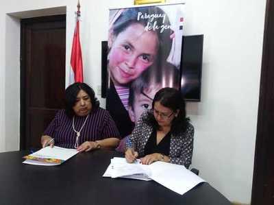 Suscriben convenio internacional para protección a niños y adolescentes