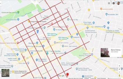 Municipalidad informa sobre plan de calles a ser recapadas
