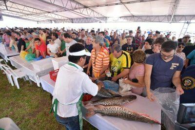 Este sábado habrá ofertas de pescado en plaza Marcelina Insfran