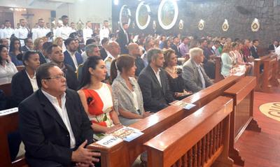 San Blas reunió a muchos fieles