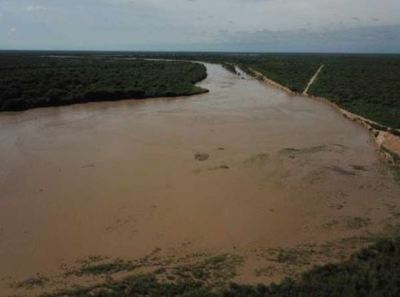 Emiten alerta roja por posibles desbordes del río Pilcomayo