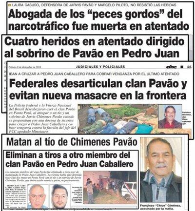 Atrapan en Brasil al narco Minotauro, quien era el nuevo capo de frontera