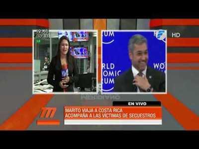 Mario Abdo viajará a Costa Rica por el caso Arrom y Martí
