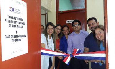 Habilitan consultorio de estimulación oportuna en el Hospital Distrital de Franco