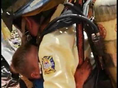 Rescatan a niño que cayó a un pozo en Ciudad del Este
