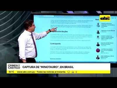 Captura de Minotauro en Brasil