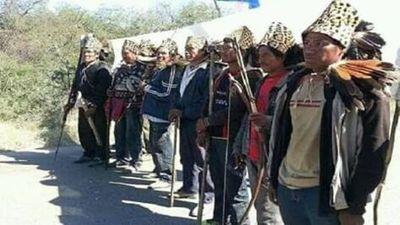 Buscando titulación de tierras, Ayoreos cerraran camino en Alto Paraguay