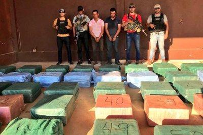 2199 kilos: incautación récord de cocaína