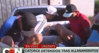 """Desmantelan banda de """"Minotauro"""" en Pedro Juan"""