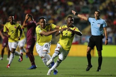 Colombia resucita a tiempo