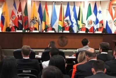 Juez valora línea de defensa de Derechos Humanos de la CorteIDH