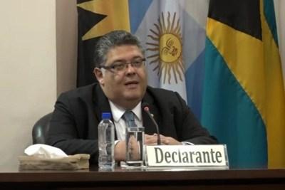 """Édgar Sánchez: """"Arrom y Martí nunca quisieron hacerse la evaluación para determinar las secuelas de la supuesta tortura"""""""