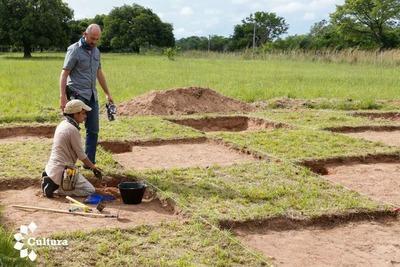 Estudios arqueológicos en el Campamento Cerro Leon