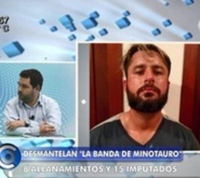 """Fiscal Hugo Volpe: """"Minotauro hacía lo que quería en Pedro Juan"""""""