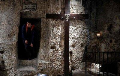 """Reabren la """"prisión de Cristo"""""""