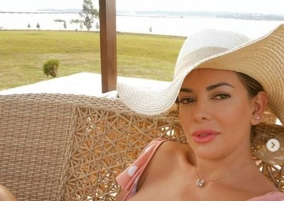 Marly Figueredo Posó En Playas Encarnacenas