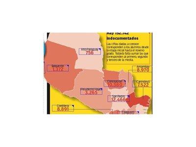 En el país existen más de 177 mil estudiantes sin cédula