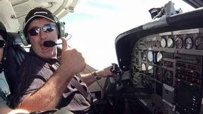 HOY / La familia del piloto del avión de Sala lanza una campaña para encontrarlo