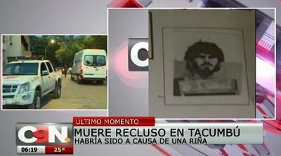 Matan a recluso tras riña en Tacumbú